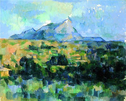 Cézanne - La Montagne Sainte-Victoire 1902-06 - Huile sur toile