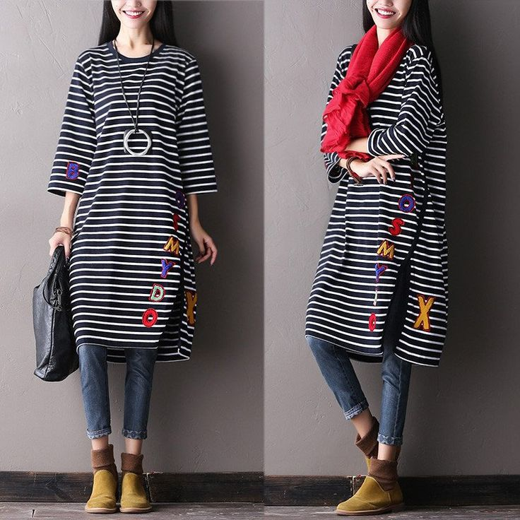 Black stripe blouse. sooo classic look.It's worth to own it.buykud outfits