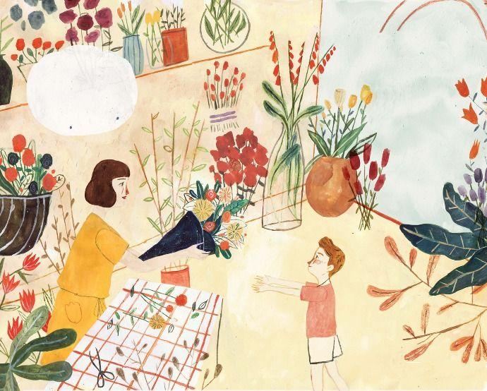 The Lonely Raincloud - katie harnett illustration