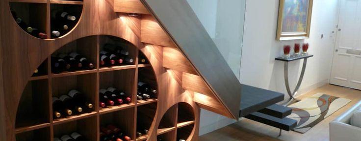 Un estante para poner los vinos a la vista