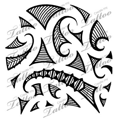 Marketplace Tattoo Maori tribal shoulder tattoo #5154 | CreateMyTattoo.com