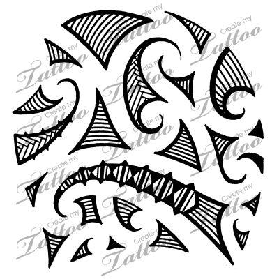 Marketplace Tattoo Maori tribal shoulder tattoo #5154 | CreateMyTattoo.com