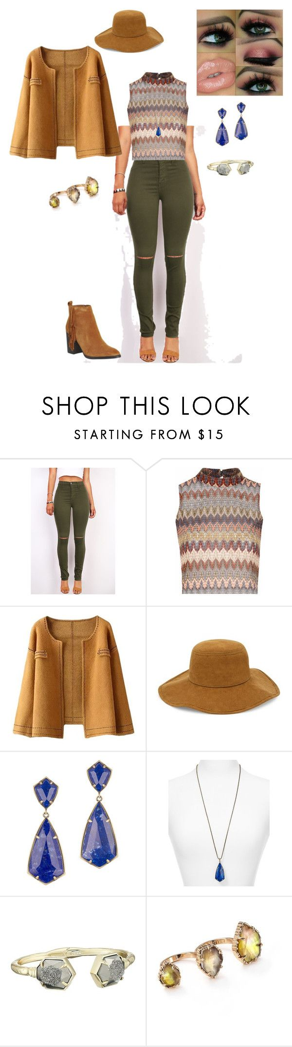 """""""Kendra Scott"""" Cold Days outfit by Sidney Blair on Polyvore featuring Glamorous, Chico's, Kendra Scott, Office, women's clothing, women, female, woman, misses and juniors"""