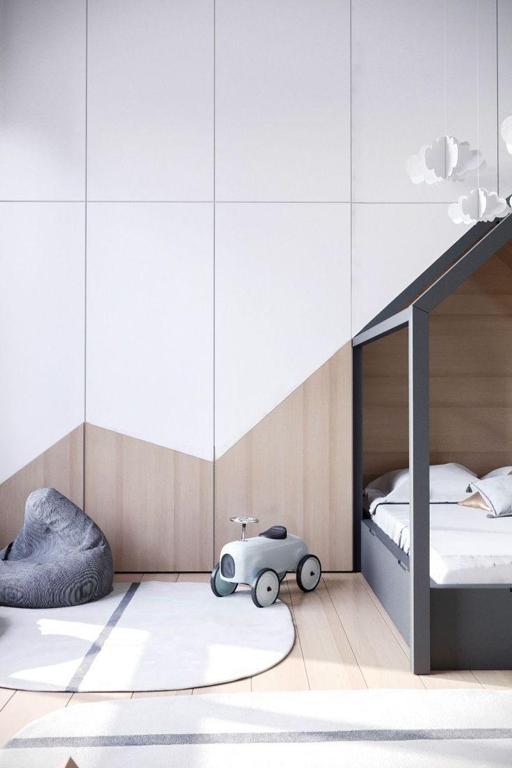 Scandinavian Kids room design. Boy Room Inspo. #tinylittlepads @tinylittlepads www.tinylittlepads.com #Kidsroomdesign