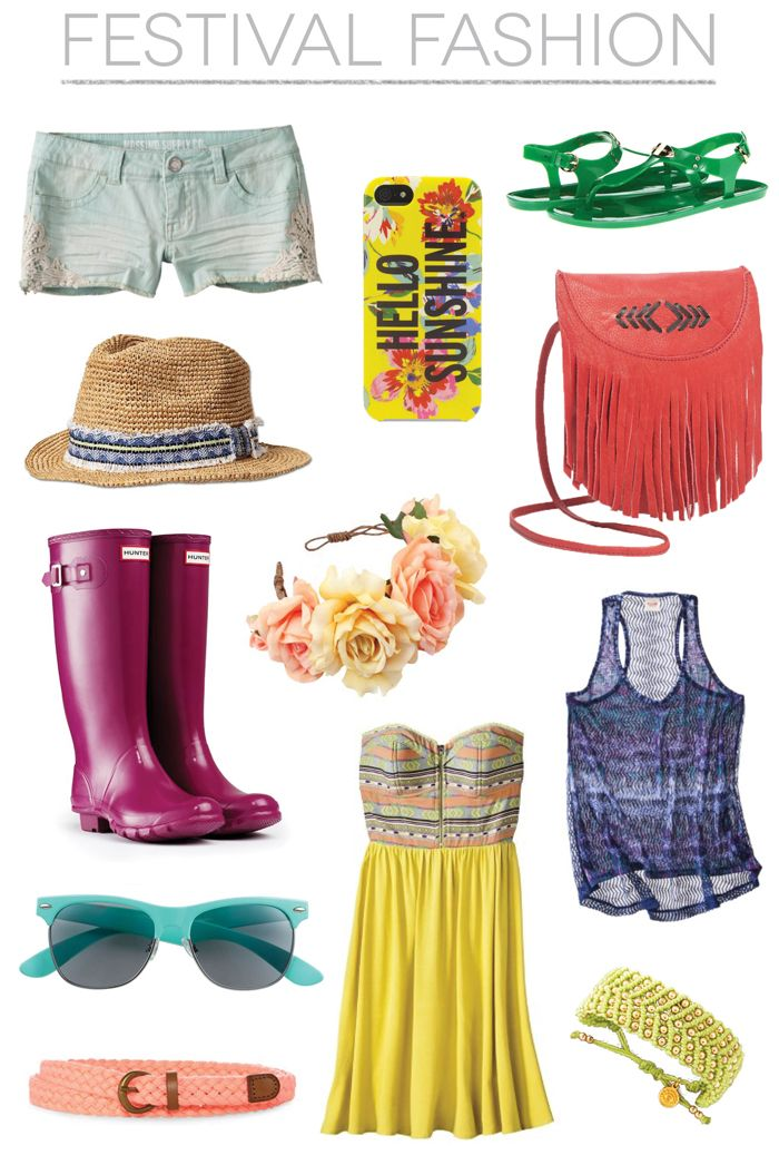 What to Wear: Festival Fashion