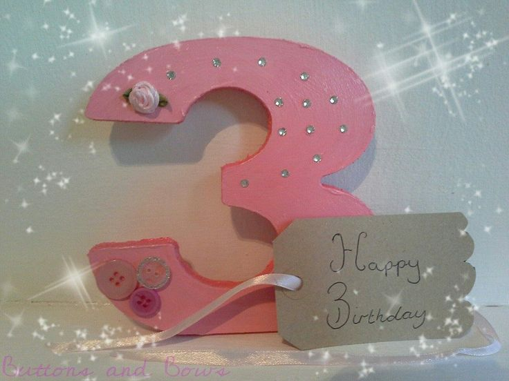 Free standing numbers. Great keepsake gift for all occasions