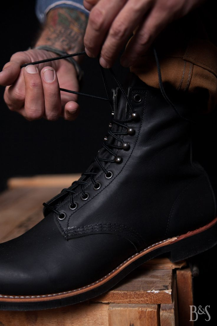 Red Wing Shoes Motorcycle