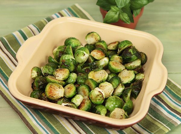 Roasted Brussel Sprouts | Healthy Vegetable Recipes By Recipe Rebuild ...