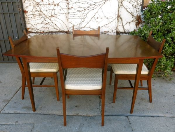 Los Angeles Gorgeous LANE Mid Century Dining Table W 4 Chairs 875