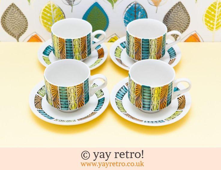 Kathie Winkle Mardi Gras - Retro and Vintage China, Glassware and Kitchenalia - yay retro!