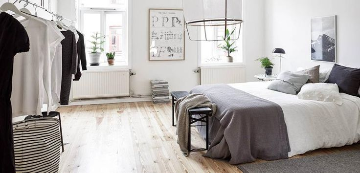 Bedroom with Nordic style