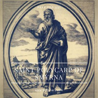 The 23rd of February is the feast day of Saint Polycarp of Smyrna. #saint #saints #saintoftheday #catholic #catholicsaint #catholicsaints