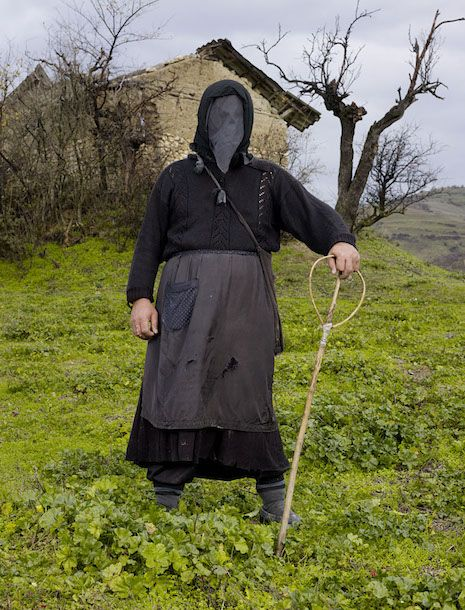 Macedonia    http://dangerousminds.net/comments/astonishing_pictures_of_21st_century_pagan_ritual_garb_from_all_over_europe