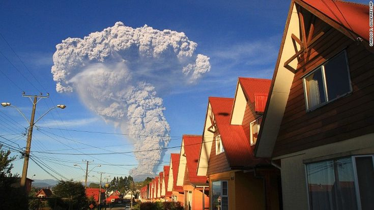 Officials have declared a state of emergency in the town of Llanquihue and the town of Puerto Octay, as well as a red alert for Chile's Lakes Region and the towns of Puerto Montt and Puerto Varas.