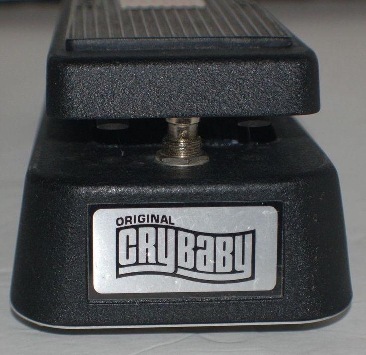 Original Dunlop GCB95 Cry Baby Original Wah Guitar Effects Pedal Footswitch #Dunlop #Crybaby #Wah #guitar