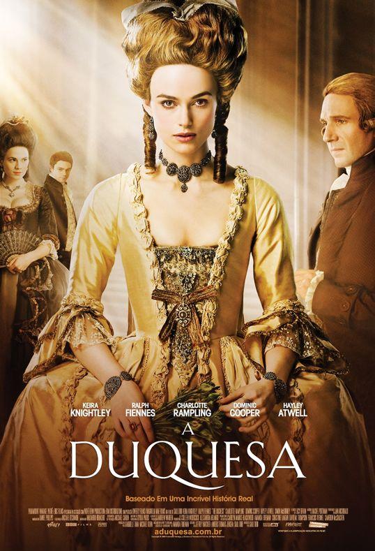 Um filme de Saul Dibb com Keira Knightley, Ralph Fiennes, Charlotte Rampling, Hayley Atwell. Georgiana Spencer (Keira Knightley) casou-se aos 18 anos com o Duque de Devonshire (Ralph Fiennes), que queria a todo custo ter um filho. Possuindo o...