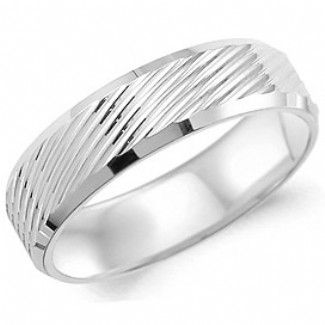 Crown Ring - Collections Wedding Bands Carved Wb 8206 M10