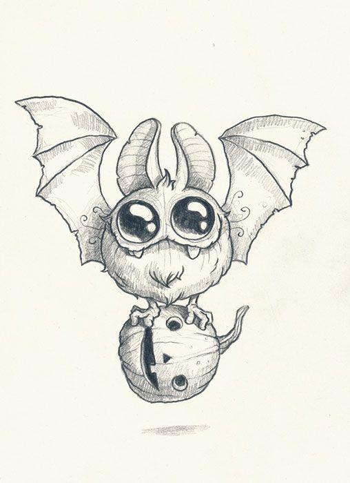 Scribble Drawing Ideas : Chris ryniak spooky scribble artist