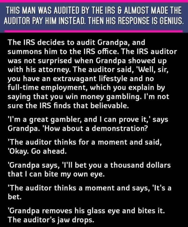 Grandpa At IRS 1