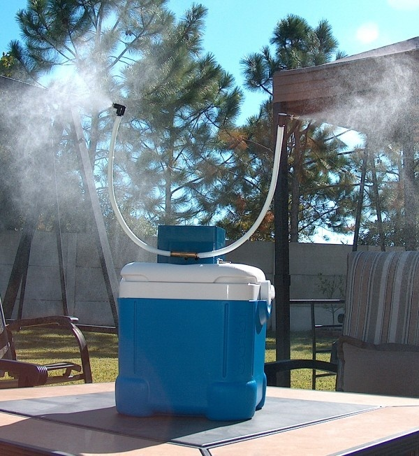 Best Portable Misting Fans With Tank : Best portable misting system images on pinterest