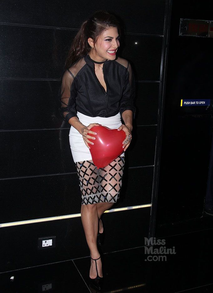 Just Wait Till You See The Bottom Of Jacqueline Fernandez's Skirt! - MissMalini