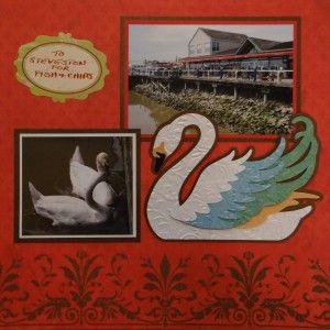 The Swan - Steveston, BC Travel scrapbook page