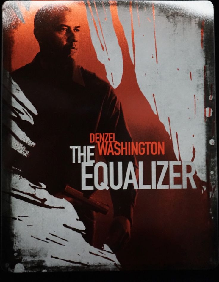 The Equalizer-Steelbook Edition.Ukens Blu-ray,Denzel Washington,Chloe Grace Moretz