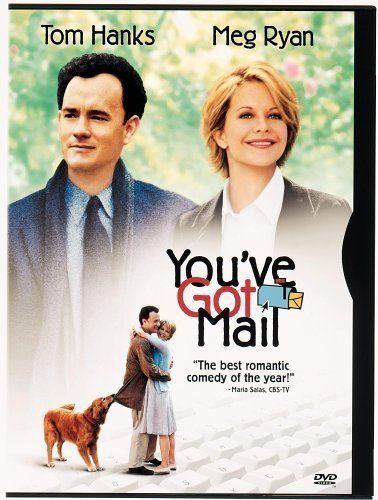 You've Got MailFilm, Nora Ephron, Romantic Movie, You'V Got Mail, Meg Ryan, Tom Hanks, Favorite Movie, Watches, Chicks Flicks