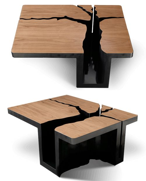 Unique Coffe Tables Beauteous 89 Best Coffee Tables Images On Pinterest  Wood Side Tables And Design Decoration