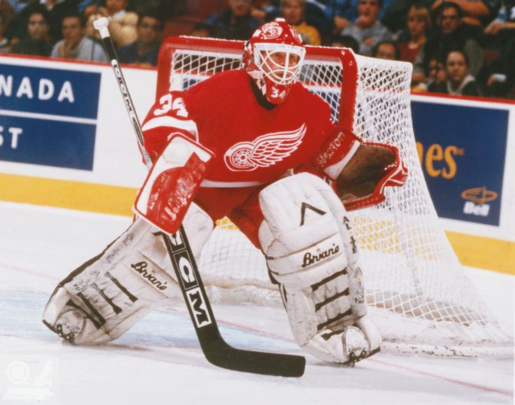 Manny Legace - Detroit Red Wings - NHL Hockey Pictures & Autographs