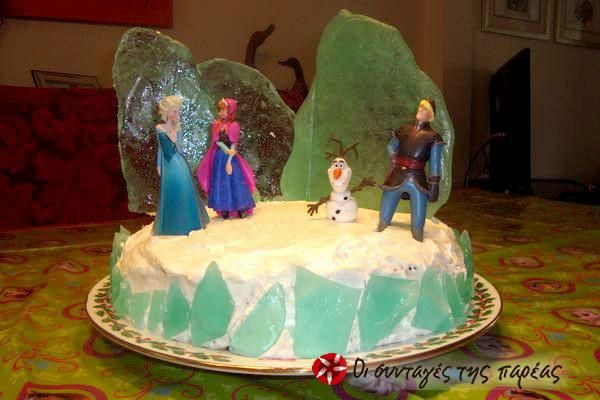 Πρωτότυπη τούρτα FROZEN #sintagespareas
