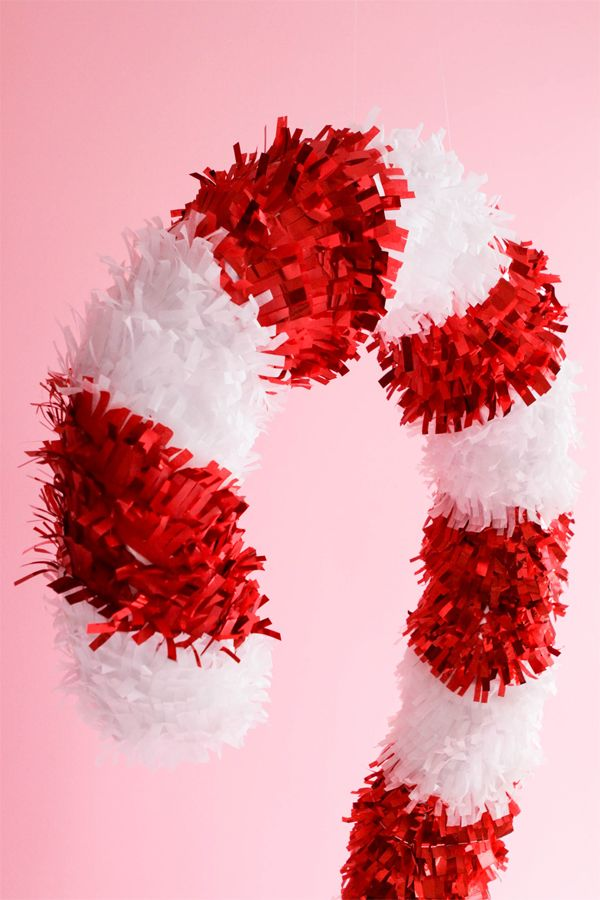 Giant Candy Cane DIY | Oh Happy Day!