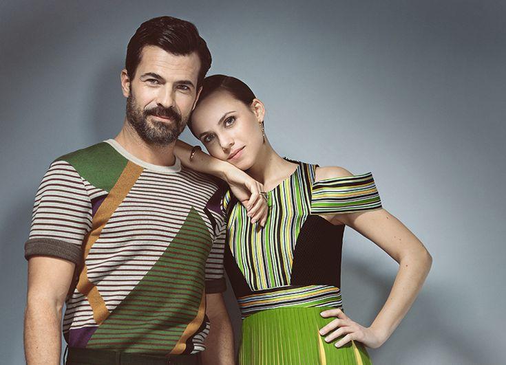 Aura Garrido y Rodolfo Sancho