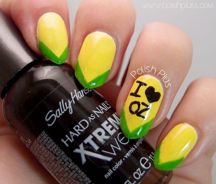 Australia Day Nail Art | Polish Plus #straya #nails