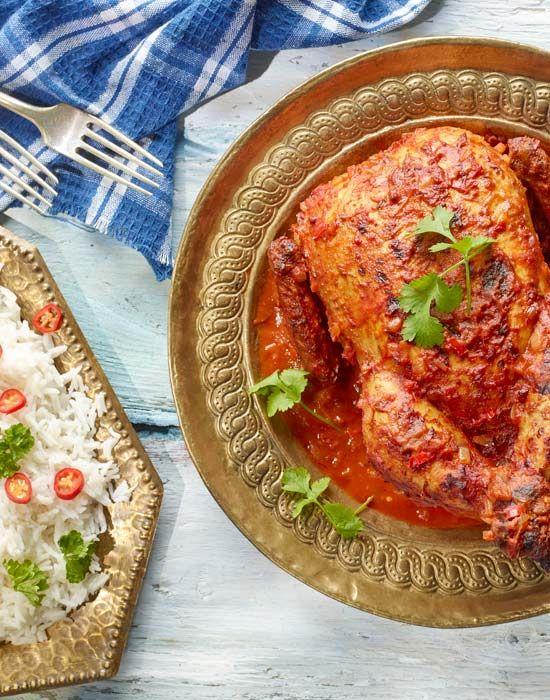 Pikantny kurczak z przyprawmi i ryżem basmati #lidl #przepis #pascal #kurczak #ryz #basmanti