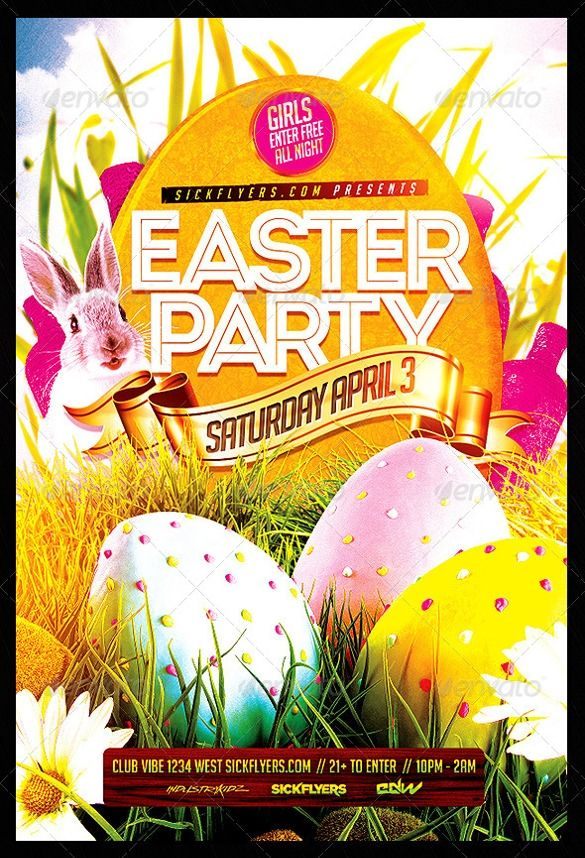 Easter Flyer Templates Word