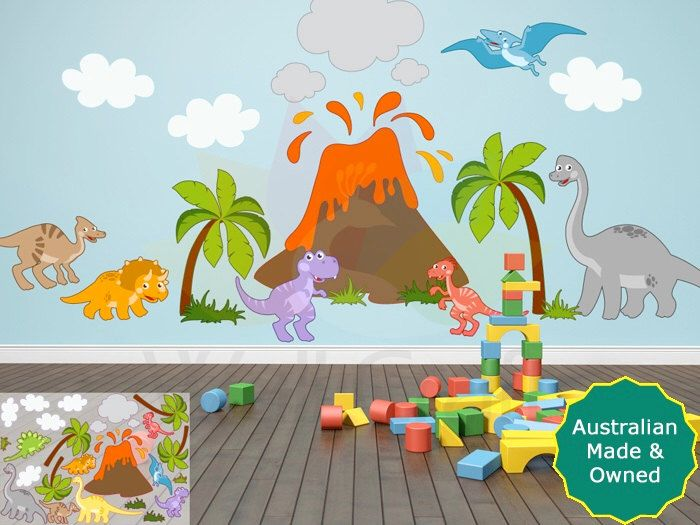 Dinosaur Wall Decor best 25+ dinosaur wall stickers ideas on pinterest | dinosaur wall