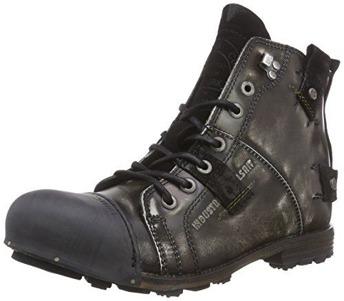 Yellow Cab INDUSTRIAL Herren Biker Boots - http://on-line-kaufen.de/yellow-cab/yellow-cab-industrial-herren-biker-boots