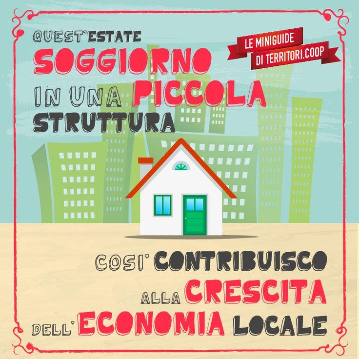 Soggiorna in una piccola strutta! Così contribuisci alla crescita dell'economia locale #vacanze #sostenibili
