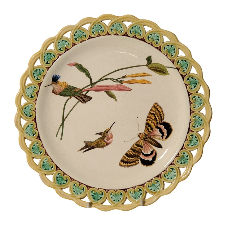 6769 best Antique Majolica, Palissy & Barbotine Pottery ...