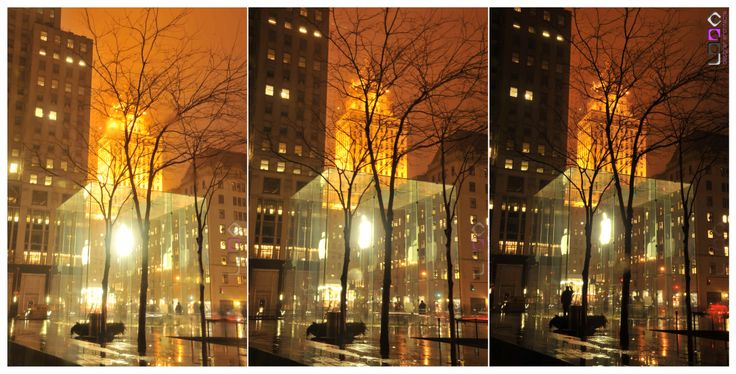 LDDA design & architecture (laurence de groote) - The streets of New-York - Triptych 01