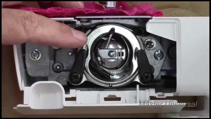 Ремонт швейной машинки brother JS-23.Видео №90.