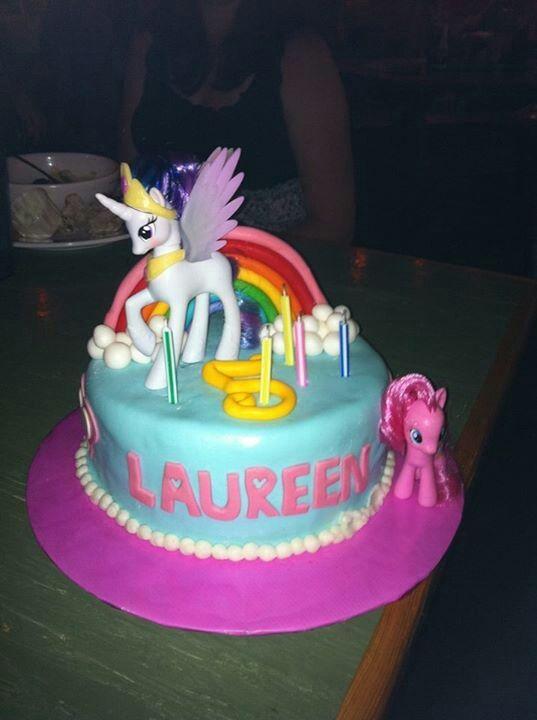 My Little Pony Unicorn Birthday Cake Girl s Birthday ...