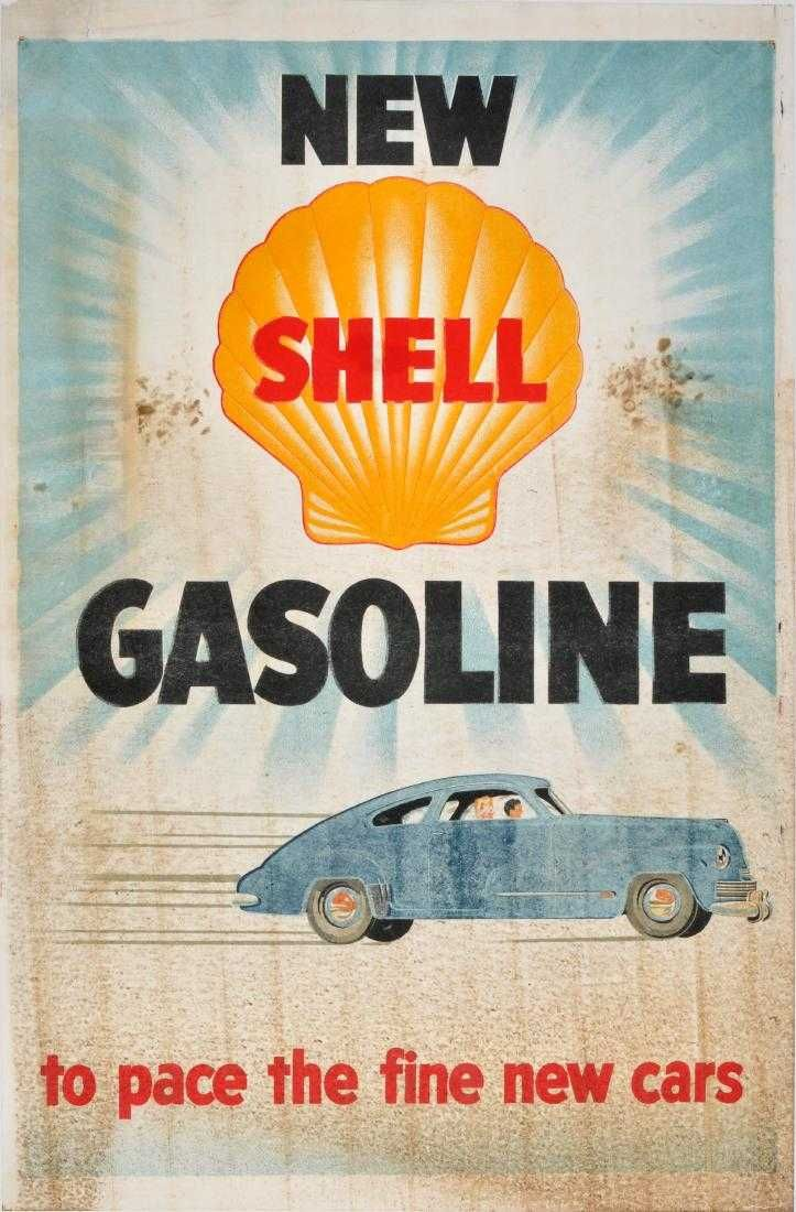 Metal Sign 1960 Cars Love Shell Gasoline Vintage Look Reproduction