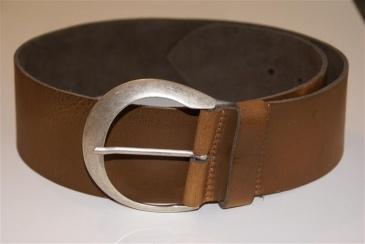 brede riem bruin - 7cm