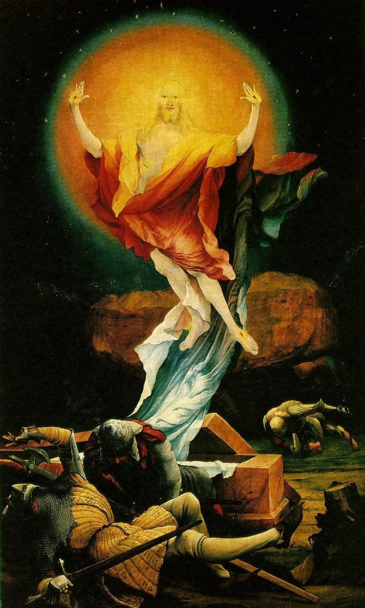 Matthias Grünewald  Resurrezione 1515
