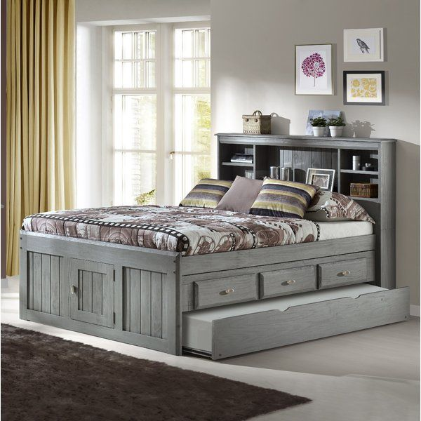 You Ll Love The Garry Full Mate S Captain S Bed With Drawers And