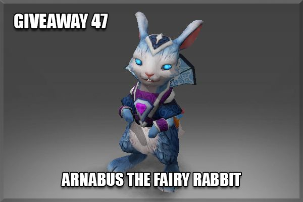 Giveaway 47 - Arnabus the Fairy Rabbit