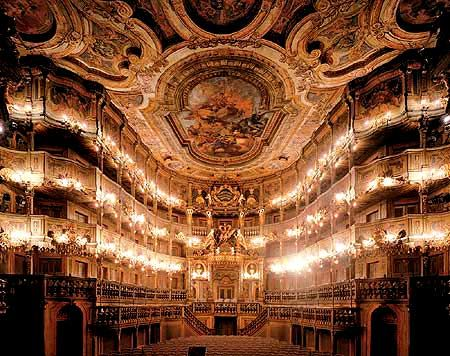 Baroque opera house