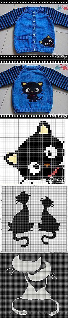Baby Knitting Patterns Узоры (схемки) для кофточек - |...